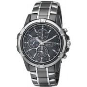 Seiko Grey9141 Seiko Men's SSC143 Stainless Steel Solar Watch with Link Bracelet Watch - For Men