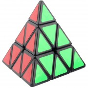 ER Moyu Pyraminx Triangular En Forma De Pirámide Magic Speed desconcertados Cubo Negro / Blanco Negro