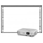 Pachet Videoproiector X05 XGA + Tabla Interactiva EVOBOARD IB85 Epson White