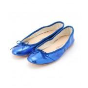 【PORSELLI】 Metalic Ballet shoes