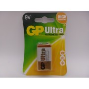 GP 9V baterie Ultra Alcalina 1604AU 6LF22, 6LR61, MN1604 blister 1