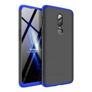 Protectie Spate GKK 360 6972170532176 pentru OnePlus 6 (Negru/Albastru)