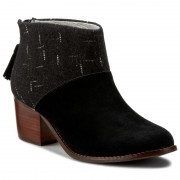 Боти TOMS - Leila 10008897 Black Suede/Dotted Wool