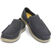 Crocs Santa Cruz Mens Loafers For Men(Black)