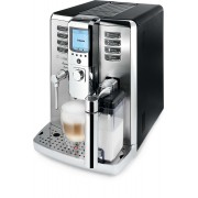 Espressor Philips Saeco Incanto HD9712/01, 15 bar, 1.6 l, Carafa lapte 0.5 l, Inox/Negru