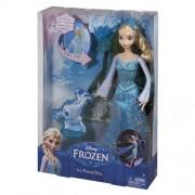 Barbie Disney Frozen Ice Power Elsa Doll, Multi Color