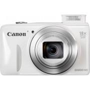 Цифров фотоапарат Canon PowerShot SX600 HS, Бял