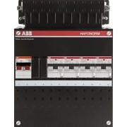 ABB 1 fase groepenkast 4 aardlekautomaten (220x280)
