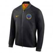 Golden State Warriors City Edition Nike Modern NBA-College-Jacke für Herren - Schwarz