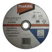 Disc abraziv pentru taiere metal MAKITA A-85329, 180 mm