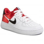Обувки NIKE - Air Force 1 Lv8 1 (Gs) CK0502 600 University Red/White/Black