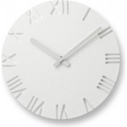 Lemnos Zegar ścienny Carved Roman 30 cm