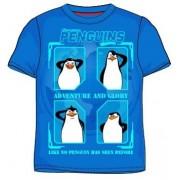 Madagaszkár Pingvinjei póló, kék