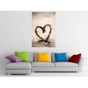 """Tablou grand canvas """"Inima din salcie"""" - cod Z23"""