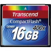 Transcend 16Go carte mémoire Compact Flash (400X)