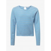 TOM TAILOR Gestreept sweatshirt, Kinderen, victoria blue blue, 152