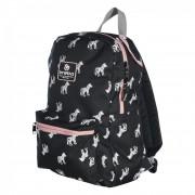 Brabo Backpack Storm Zebra Black