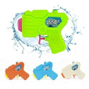 Soni 4 Packs Water Pistol Soni Water Squirt Gun for Water Fight Great Summer Toys Outdoor for fun