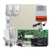 SISTEM ALARMA ANTIEFRACTIE DSC PC1616 EXT SEKA SMS GSM