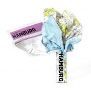 Palomar - Crumpled City Map - Hamburg