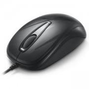 Оптична мишка DELUX DLM-107BU, 1000 DPI, черен, DLM107BU_VZ