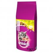 14кг Junior Whiskas, суха храна за котки с пилешко