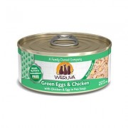 Weruva Green Eggs & Chicken with Chicken, Egg & Greens in Gravy Grain-Free Canned Cat Food, 5.5-oz, case of 24