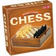 Chess - Wooden Classic Game - Travel Size Board Game