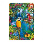 Puzzle Bird Tropical Land, 500 piese