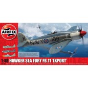KIT CONSTRUCTIE AVION HAWKER SEA FURY FB 11 EXPORT EDITION 1 48 - AIRFIX (AF06106)