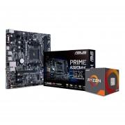 Combo Actualización AsRock Amd Ryzen 3 2200g Rx Vega 8-Negro