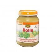 Piure de broccoli cu orez - Holle