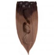 Rapunzel® Extensions Naturali Kit Clip-on Original 7 pezzi O2.2/7.3 Brown Ash Ombre 40 cm