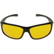John Dior Wrap-around Sunglasses(Yellow)