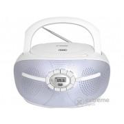 Radio CD Trevi CMP 552 Bluetooth, alb