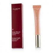 Eclat Minute Instant Light Natural Lip Perfector - # 02 Apricot Shimmer 12ml/0.35oz Eclat Minute Instant Light Перфектор за Естествени Устни - # 02 Кайсиев Блясък