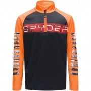 Spyder Boys First Layer PEAK black/bryte orange