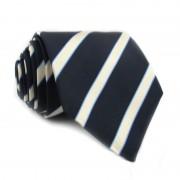 Cravatta seta a righe MOSCHINO