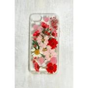 Recover - Coque pour iPhone 6/6s/7/8SE fleurs séchées rouge- taille: ALL