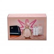 Bvlgari Rose Goldea set cadou EDP 90 ml + Lapte de corp 75 ml + Gel de dus 75 ml + Borseta cosmetice pentru femei