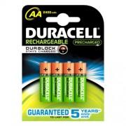 Duracell Duracell Stay Charged Aa Ricaricabile). Capacità Della Batteria: 2000 Mah, Utilizzo: Universale, Tecnologia Batteria: Nichel-Idruro Di Metall