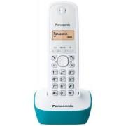 Telefon Fix Panasonic KX-TG1611FXC (Alb/Blue)