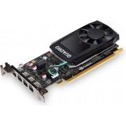 Nvidia Quadro PNY P1000 4GB GDDR5, 4xMini DisplayPort/128-bit/VCQP1000DVI-PB