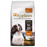 2x15kg Applaws cães Adultos deraças Pequena ou médiasFrango ração