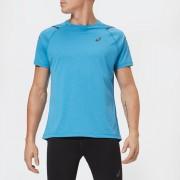 Asics Men's Icon Short Sleeve Top - Race Blue/Peacoat - M - Blue