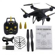 KMtar5MX D68W-3 2.4G RC Selfie Smart Drone Quadcopter Aircraft UAV with 720P WiFi FPV Live Video Camera Altitude Hold 360° Flips