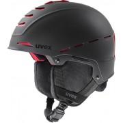 UVEX Legend Pro Black/Red Mat 55-59 cm 20/21