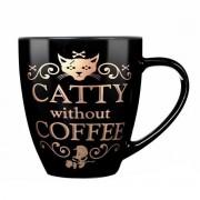 tazza ALCHEMY GOTHIC - Catty Without Coffee - ALMUG7