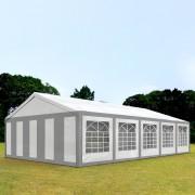 TOOLPORT Marquee 5x10m PE 240g/m² grey-white waterproof