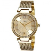 Guess Analog Gold Dial Womens Watch - W0638L2